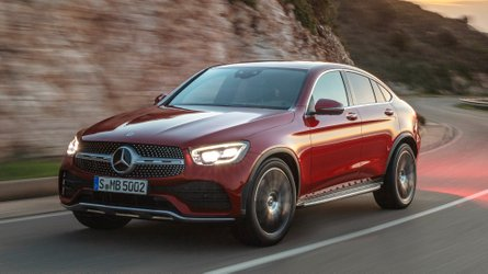 2020 Mercedes-Benz GLC Coupe gets refreshed face, more power