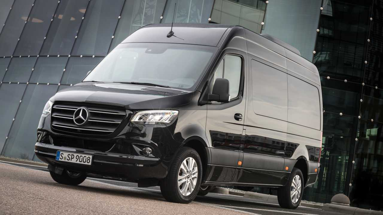 Mercedes MBUX e Sprinter
