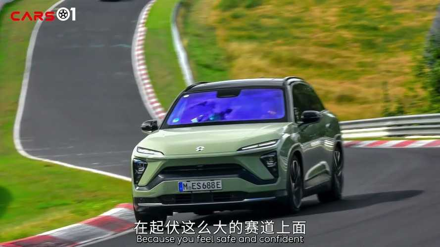 Watch Nio ES6 electric SUV take a lap around the Nurburgring