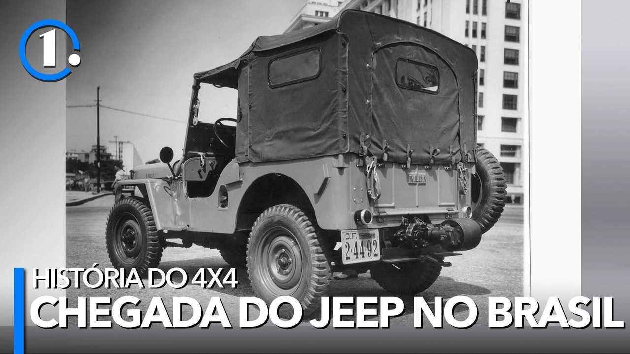 A chegada do Jeep no Brasil