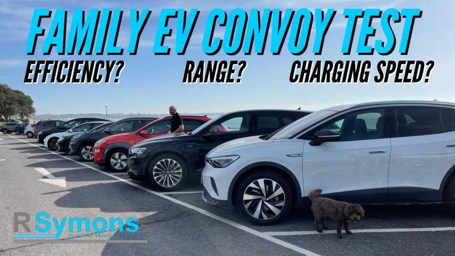 Family-Friendly EVs Rated For Efficiency, Range And Charging