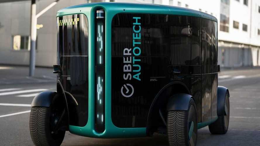 Сбер продемонстрировал прототип беспилотного электромобиля