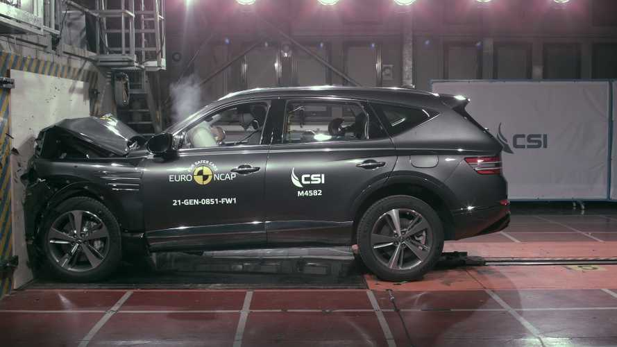 2021 Genesis G80 ve GV80 Euro NCAP testlerinden geçti