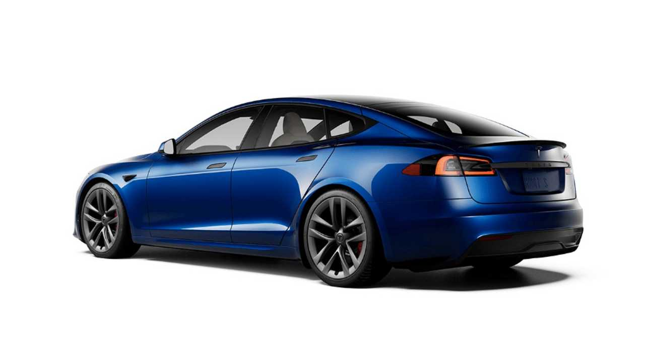 Model S Plaid Blue