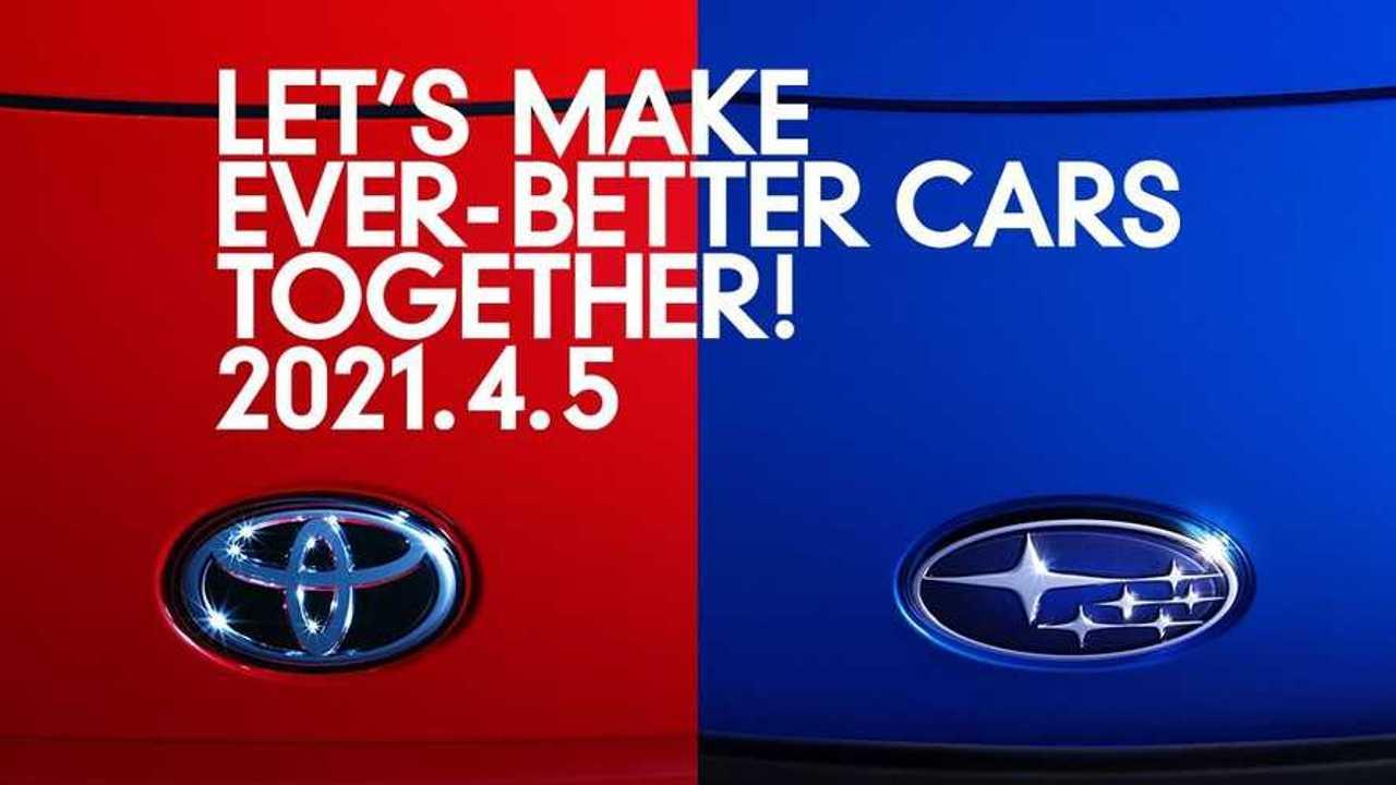 Teaser Toyota Subaru
