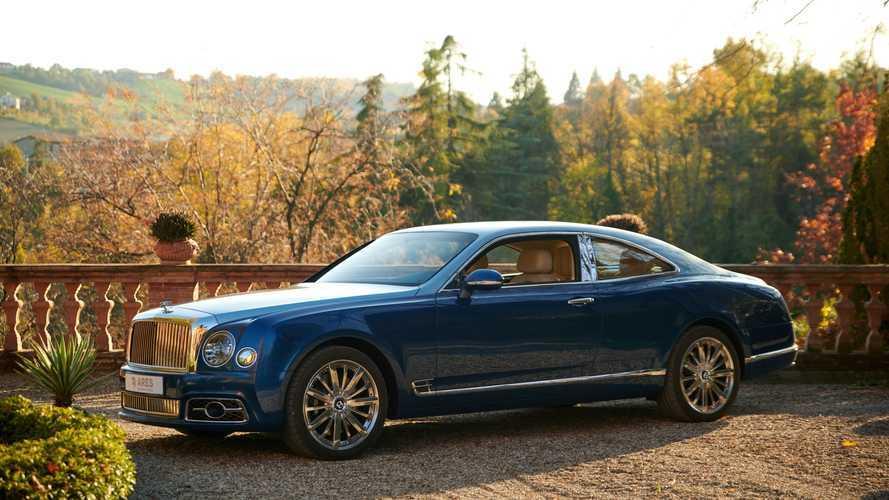 Así es el exclusivo Bentley Mulsanne coupé de Ares Design