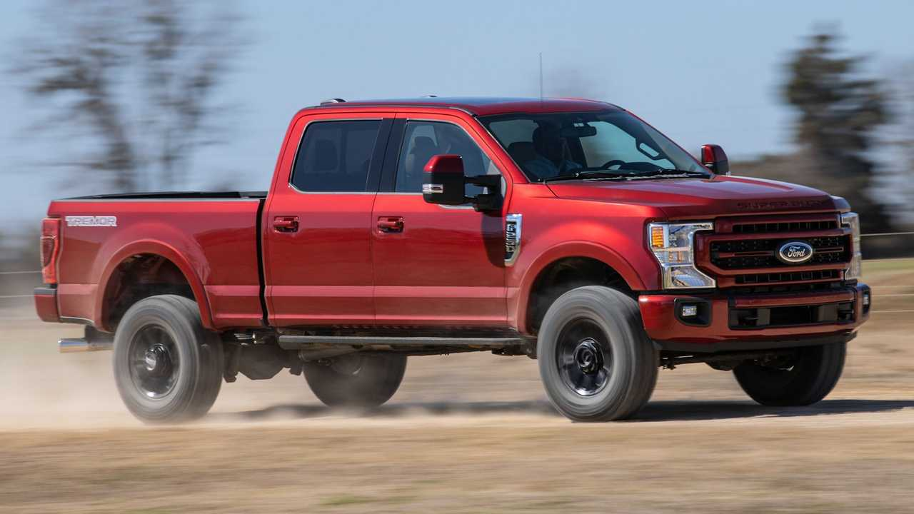 2022 Ford Super Duty announced with updates.
