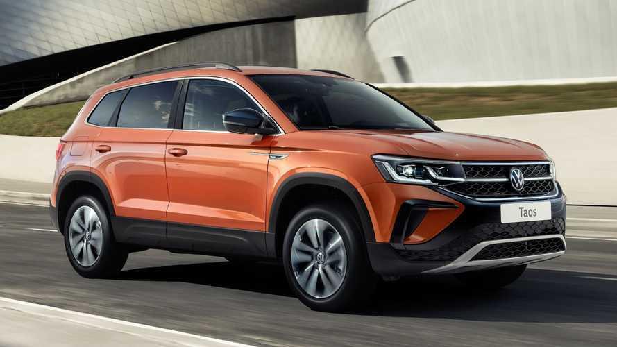 VW Taos 2022 estreia na Rússia com motor 1.6 do Polo; será que dá conta?