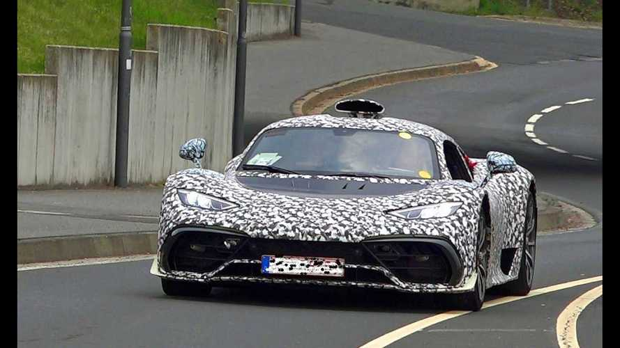 Yesterday was a busy prototype-testing day at the Nurburgring