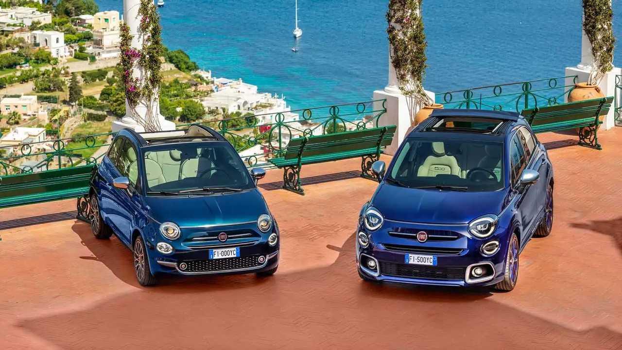 Fiat 500 y 500X Yatching 2021 edicion especial