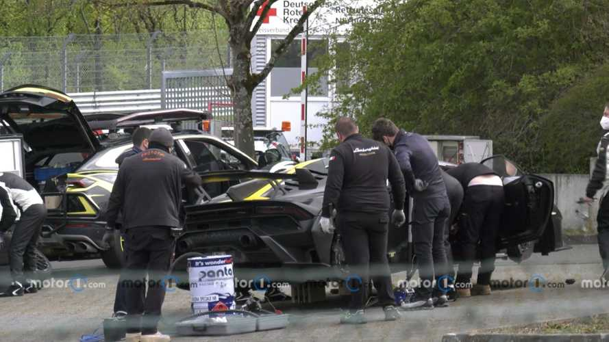 Lamborghini - Un record sur le Nürburgring avec l'Huracan STO ?