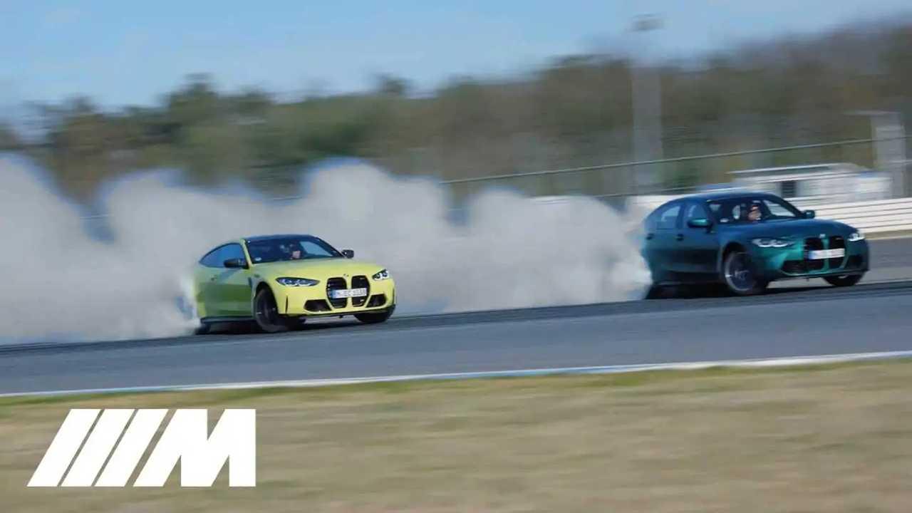 bmw m3 m4 in drift