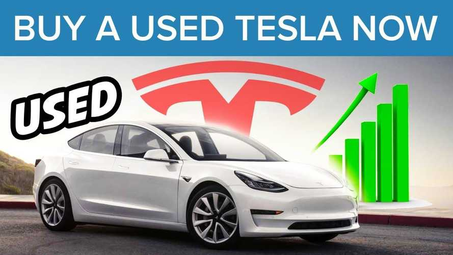 It's Time To Buy A Used Tesla Before It's Too Late