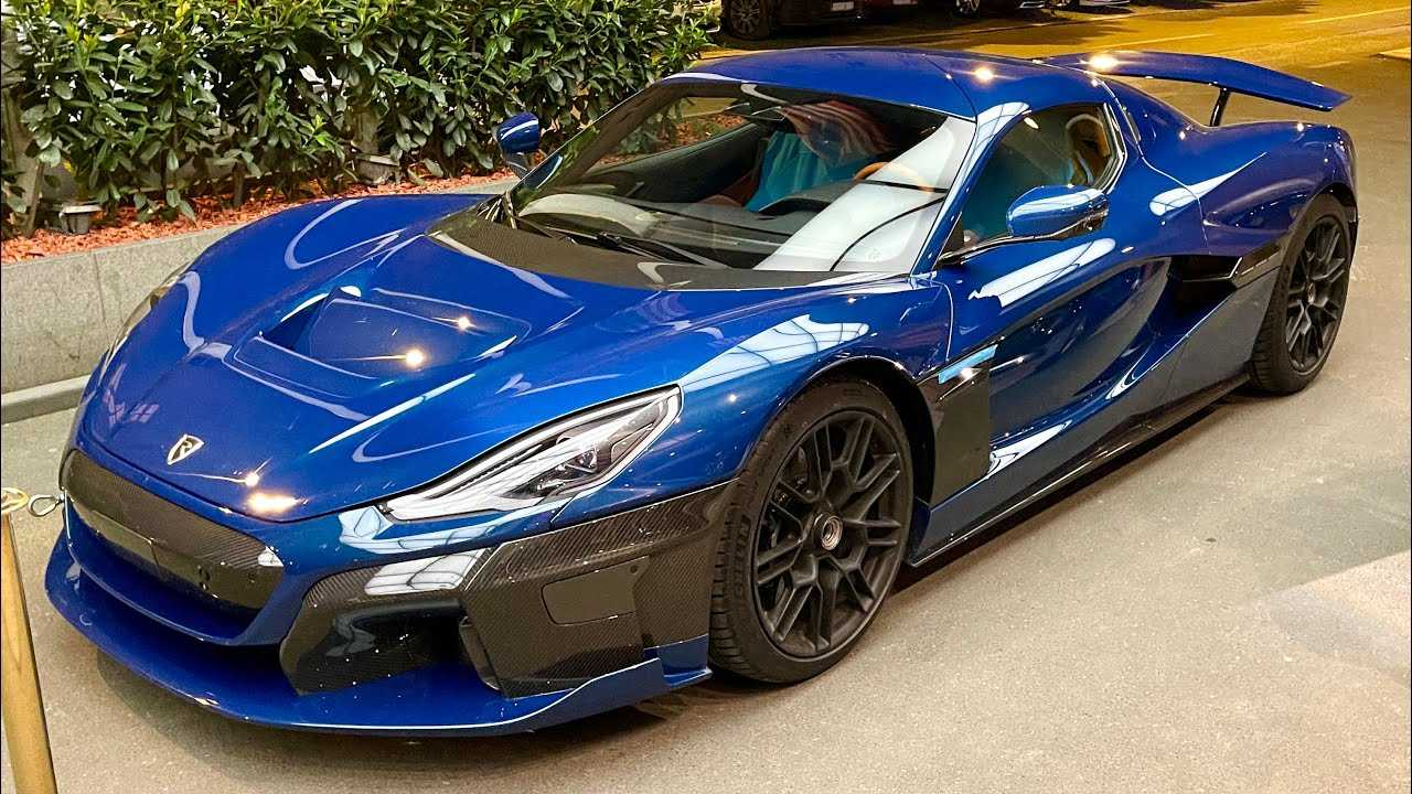Rimac C_Two Spotted On Streets