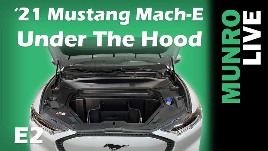 Sandy Munro Finds Phenomenal Idea Under Ford Mustang Mach-E Hood