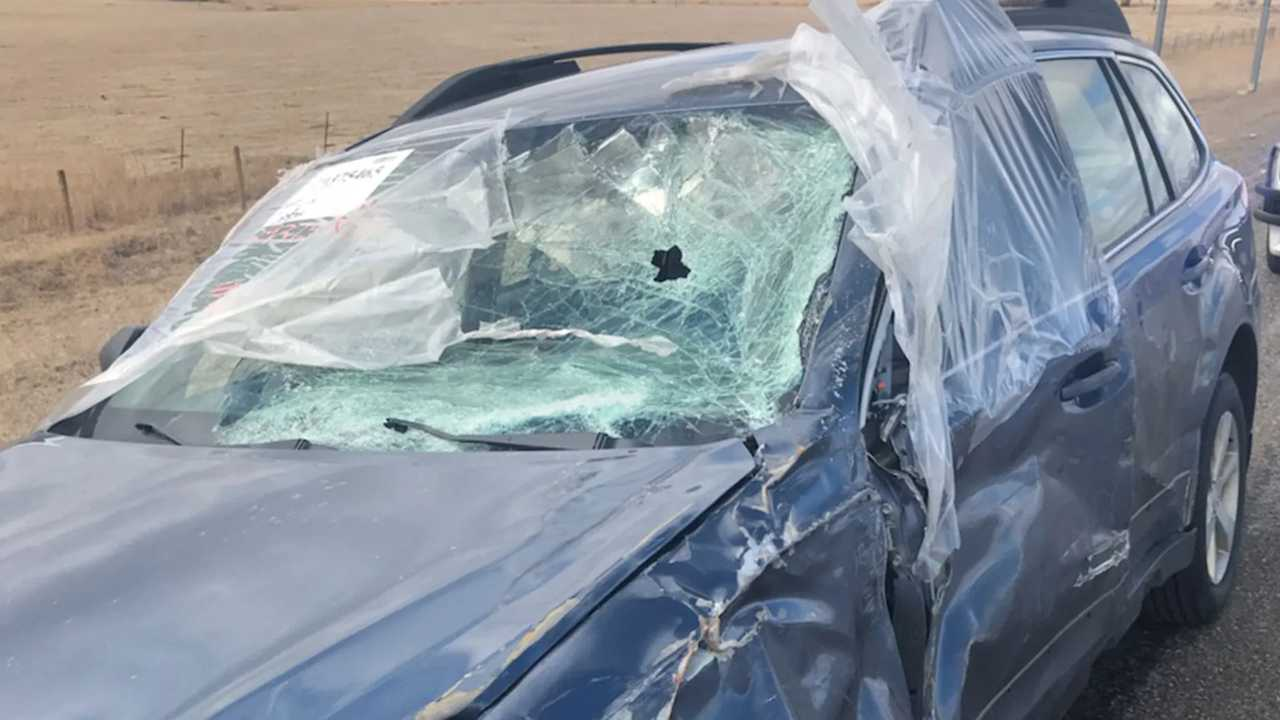 Subaru betört szélvédő