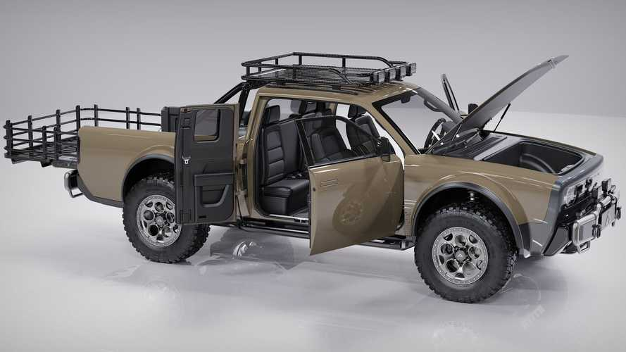 Alpha Wolf+ Is An Off-Road Extended Cab Electric Pickup