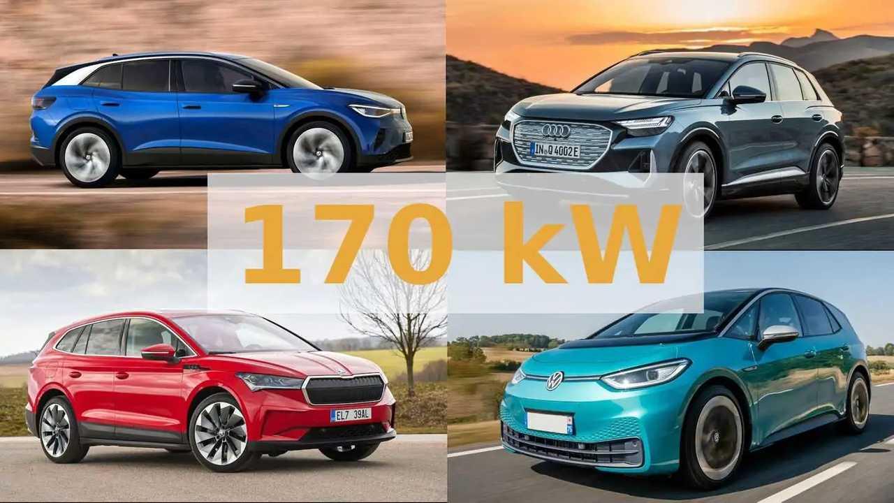 170 kW Ladeleistung für alle MEB-Fahrzeuge ab Ende 2021?