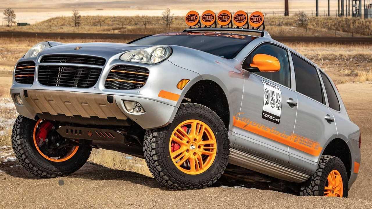 2005 Porsche Cayenne Turbo Transsyberia Hommage