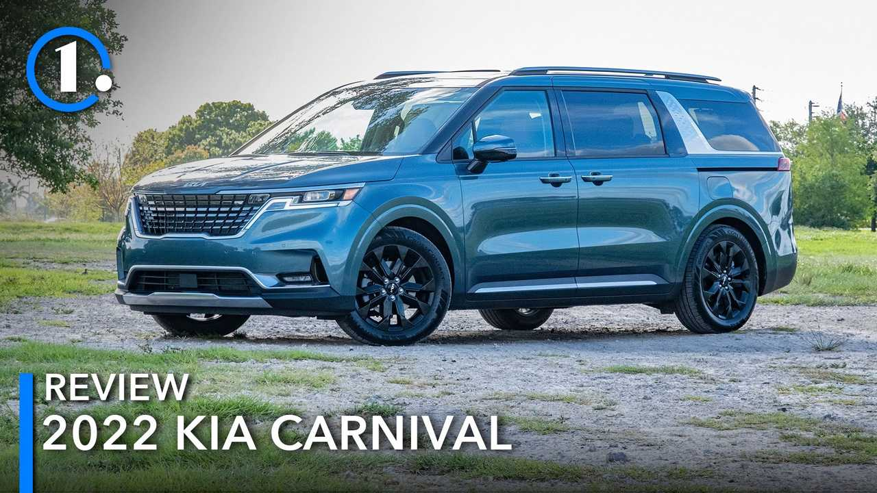 The 2022 Kia Carnival is a new take on the minivan.