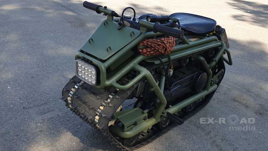 Meet Hamyak, A Custom Moto-Tank Creation That Fits In Your Car