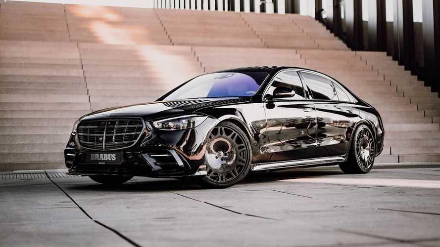 Brabus 500 is a Mercedes S-Class with extra muscle and devilish looks