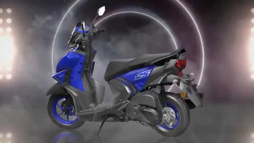Yamaha Launches Sporty Ray ZR 125 Scooter In India