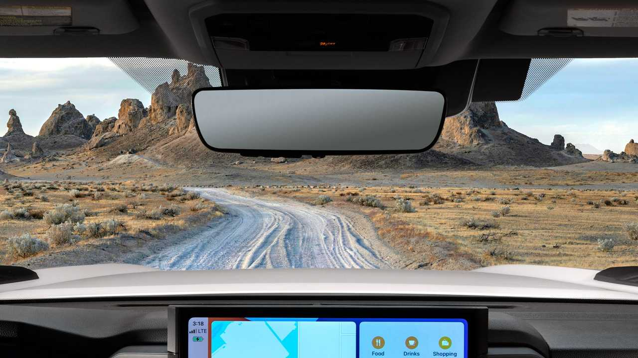 2022 Toyota Tundra interior teaser images.