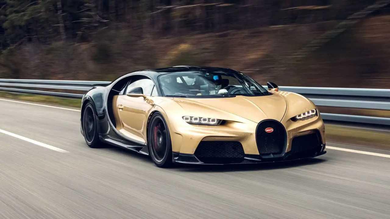 Bugatti Chiron Super Sport test