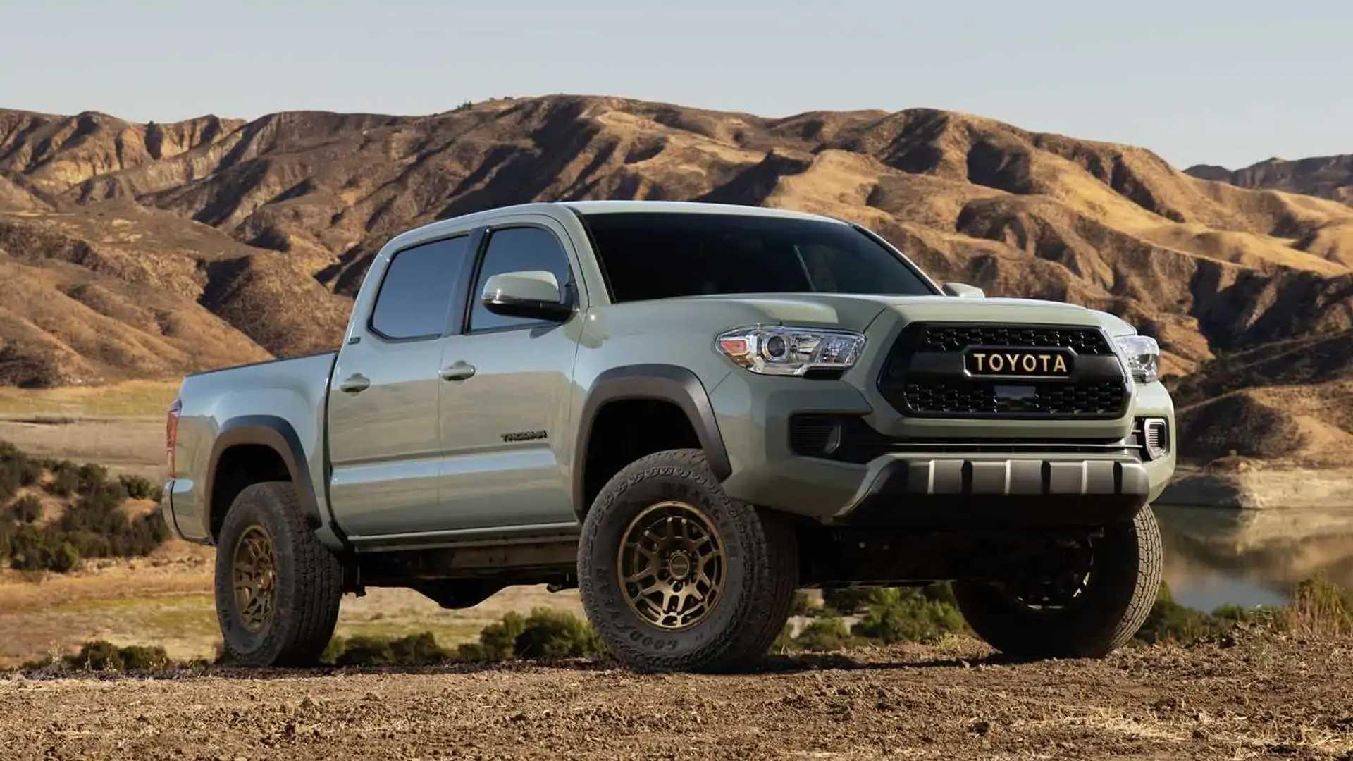 Toyota Tacoma обзавелась новыми версиями Trail Edition и TRD Pro