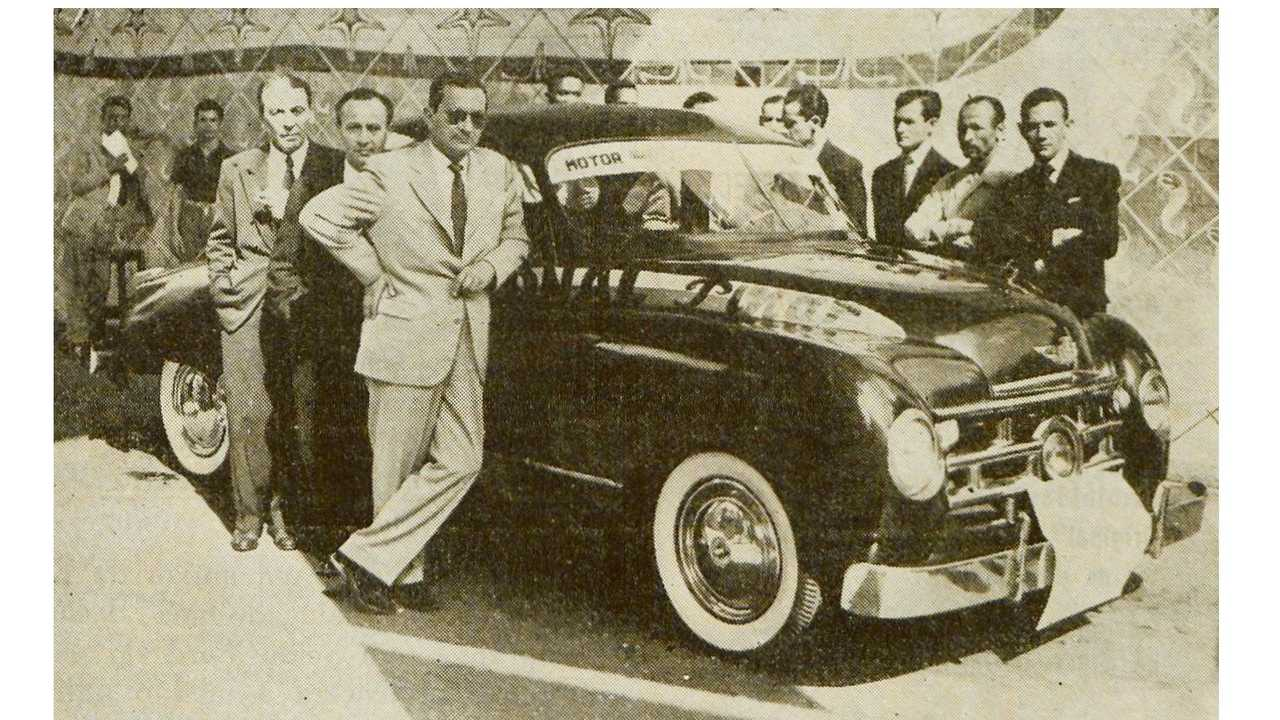 Pinar - Exposição no Ministério da Educação (Jun/1950)