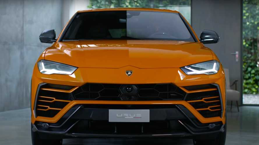 Original Lamborghini Urus Carbon Fiber Accessories Now Available