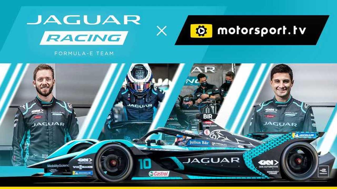 Jaguar Racing Channel on Motorsport.tv announcement lead image