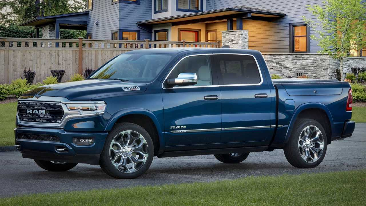 The 2022 Ram 1500 Limited 10th Anniversary Edition pickup truck.
