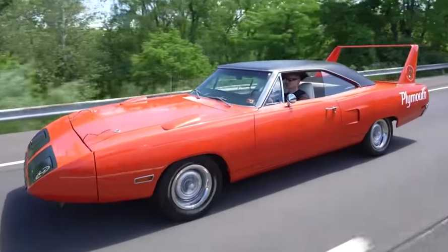 Plymouth Superbird Gets Its First Wash In Three Years