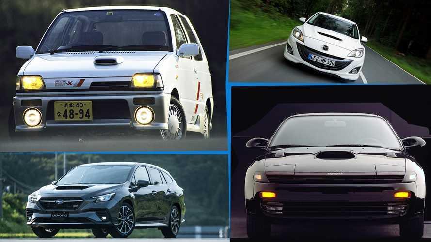 SLIDESHOW | Kaput üstü hava girişi bulunduran 10 Japon otomobili