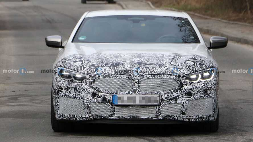 BMW 8 Series Coupe facelift first spy photos