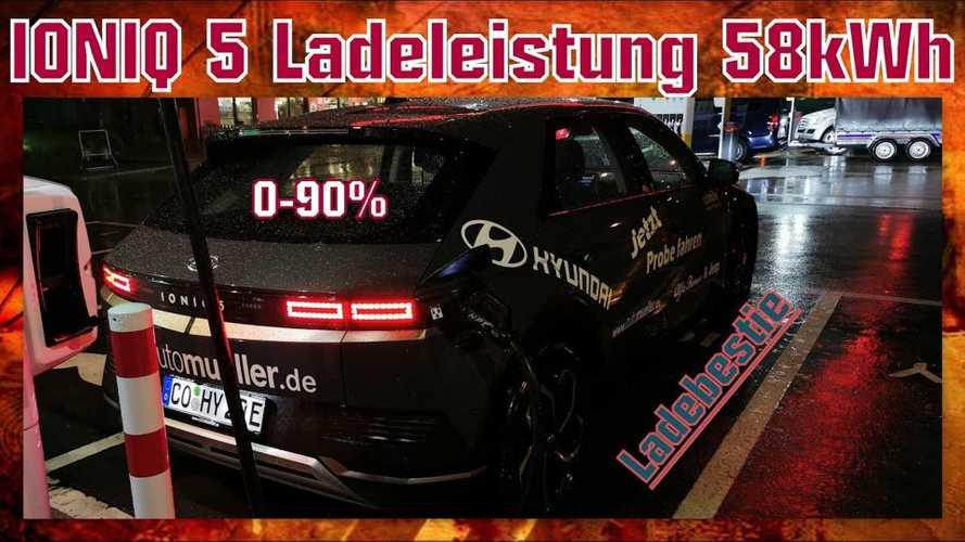 Hyundai Ioniq 5 With 58 kWh Pack: In-Depth Charging Analysis