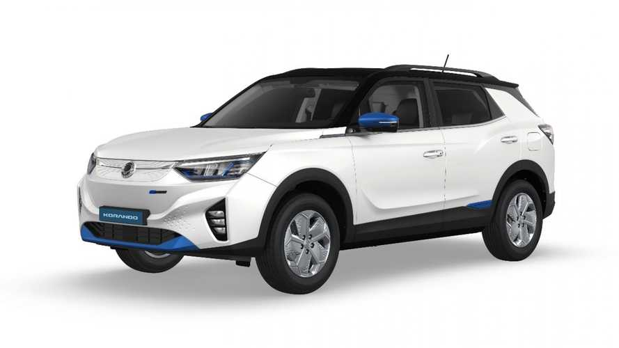 Electric SsangYong Korando coming to Europe this summer, J100 in 2022