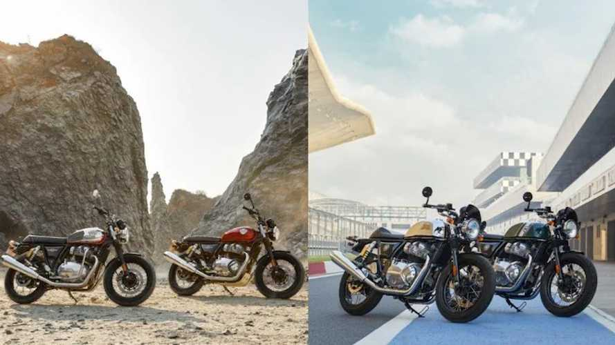 Royal Enfield Launches Bold New Colors For 650 Twins