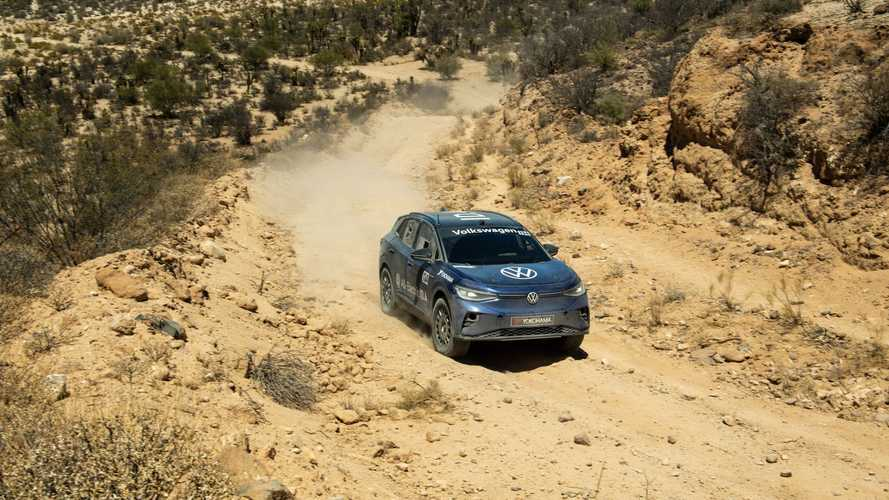 VW ID.4 successfully completed NORRA Mexican 1000 off-road race
