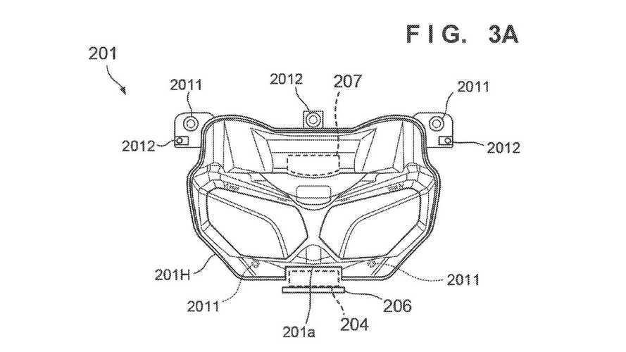 Honda Africa Twin Radar Patent