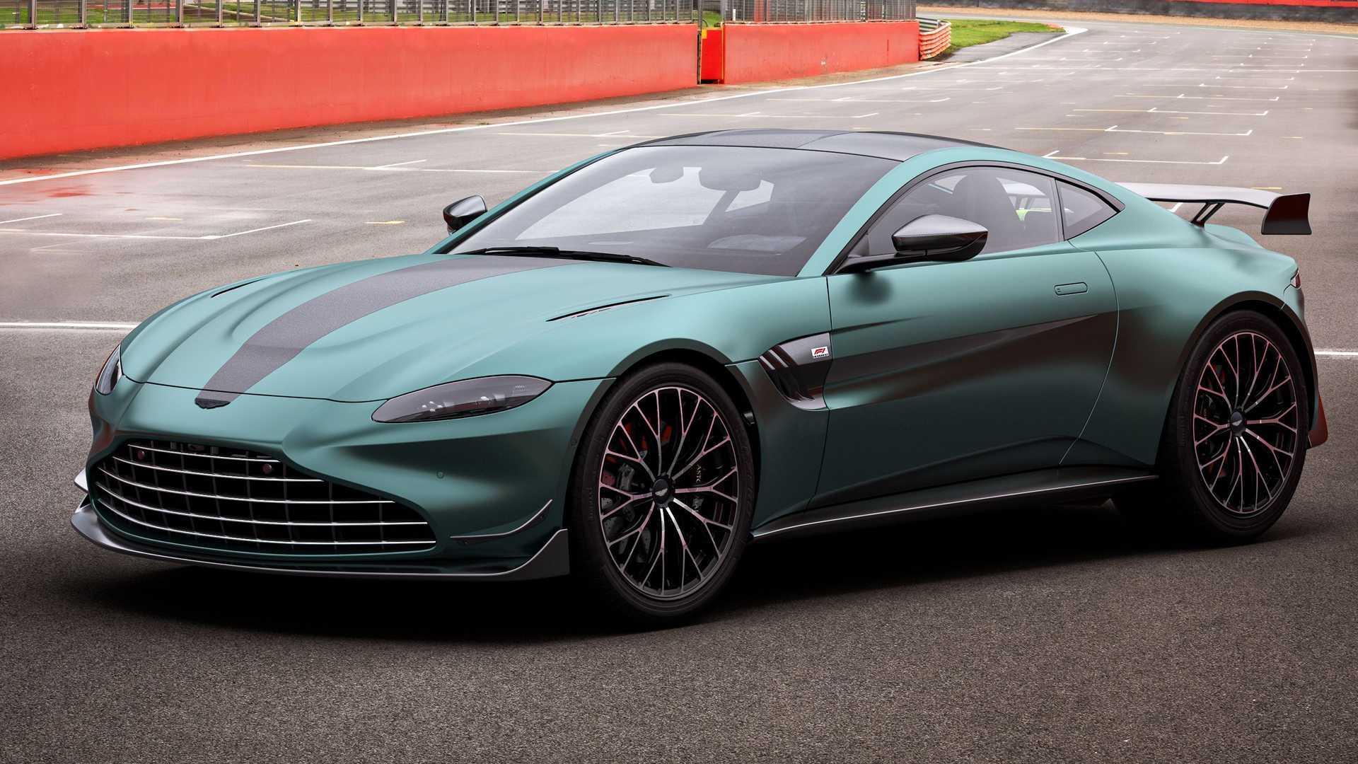 Aston Martin Vantage F1 Edition Debuts With More Power Aero Upgrades