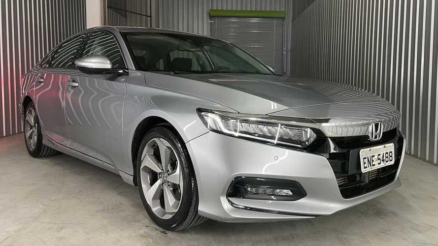 Teste: Honda Accord Touring é o caminho da evolução do novo Civic 11
