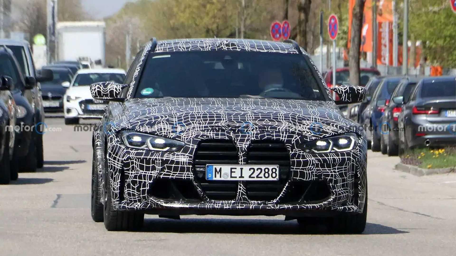 BMW M3 Touring Spy Shots