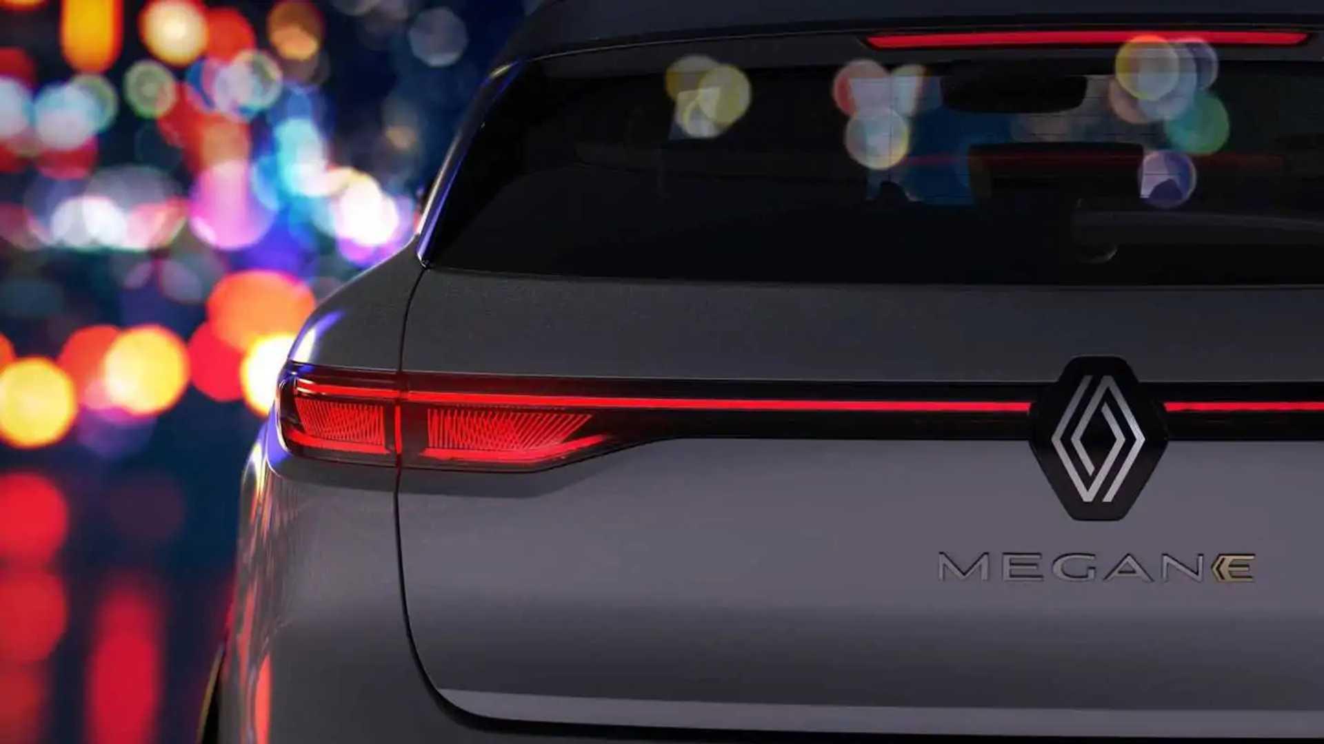 Renault Megane E-Tech elétrico - teasers