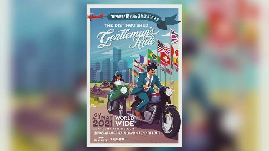 Triumph Celebrates Distinguished Gentleman's Ride's 10th Anniversary