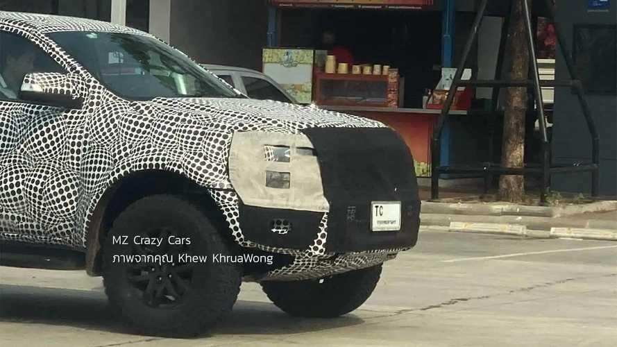 Flagra: Nova Ford Ranger Raptor 2023 - Tailândia