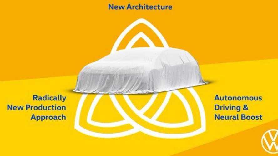 Новый флагман Volkswagen назвали «Троицей»