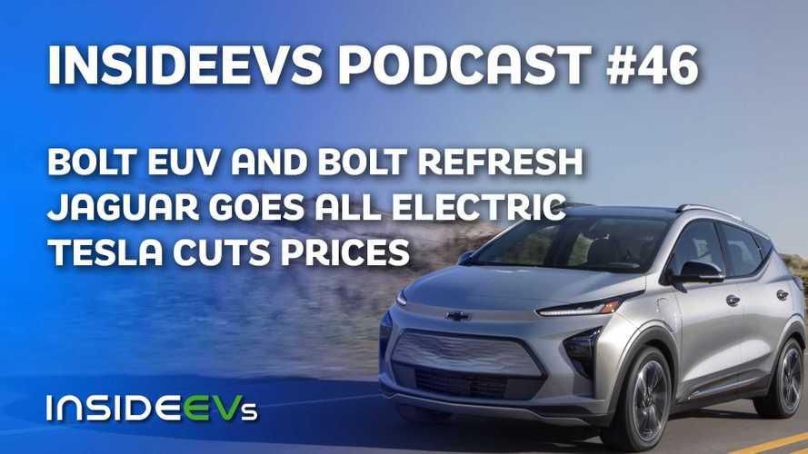 Chevy Bolt EUV Debuts With Refreshed Bolt EV, Jaguar Going All EV
